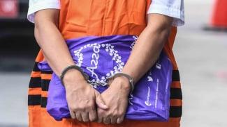 Ilustrasi tersangka kasus tindak pidana korupsi