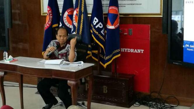 Kepala Pusat Data Informasi dan Humas BNPB, Sutopo Purwo Nugroho