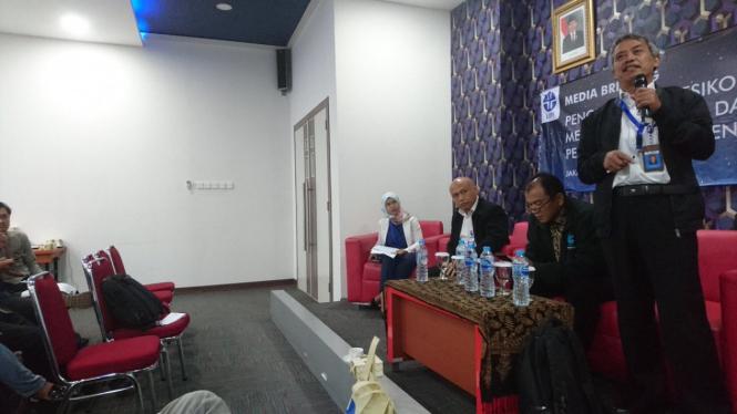 Peneliti Pusat Penelitian Fisika LIPI, Bambang Widiyatmoko.