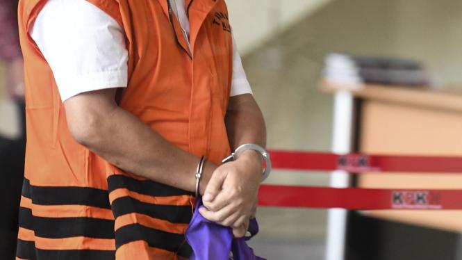 Tahanan KPK kini harus diborgol (foto ilustrasi).