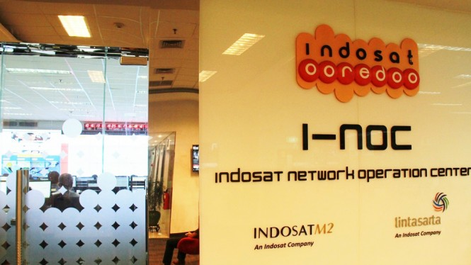 Indosat Network Operation Centre (I-NOC).