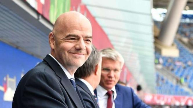 Presiden FIFA, Gianni Infantino.