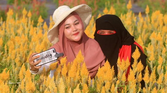 Objek Wisata Taman Bunga Aceh
