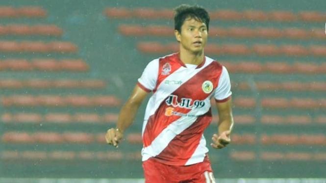 Achmad Jufriyanto saat bermain untuk Kuala Lumpur FA