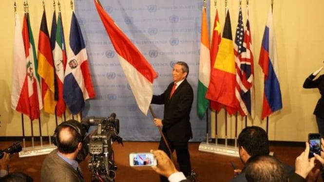 Indonesia kembali jadi anggota tidak tetap Dewan Keamanan PBB.