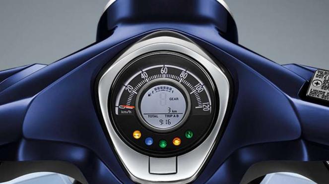 Panel instrumen Honda Super Cub C125
