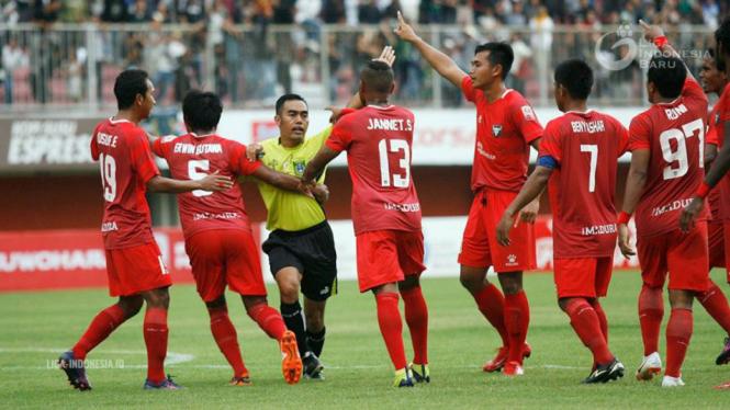 Para pemain Madura FC.