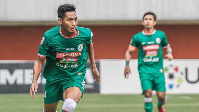 PSS Sleman saat berlaga di Liga 2 Indonesia