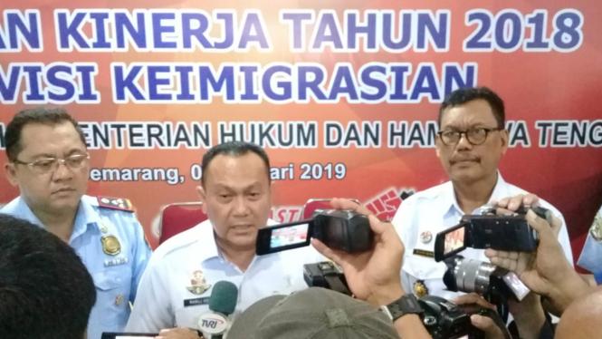 Kepala Divisi Imigrasi Kanwil Kemenkumham Jateng, Ramli H.S