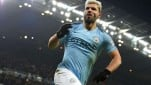 Striker Manchester City, Sergio Aguero