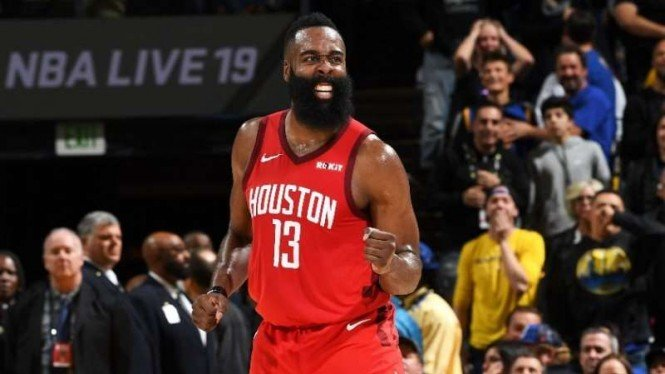 Point guard Houston Rockets, James Harden