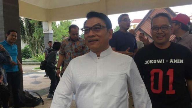 Wakil Ketua Tim Kampanye Nasional (TKN) Joko Widodo-Ma'ruf Amin, Moeldoko