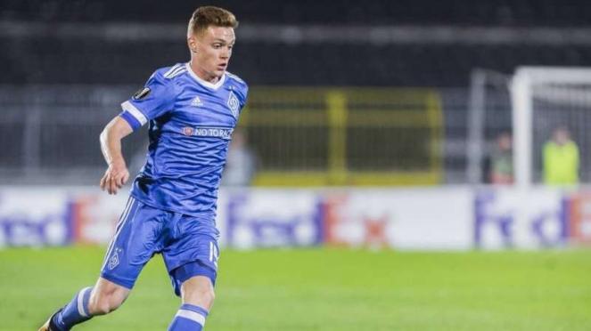 Gelandang Dynamo Kiev, Viktor Tsyhankov
