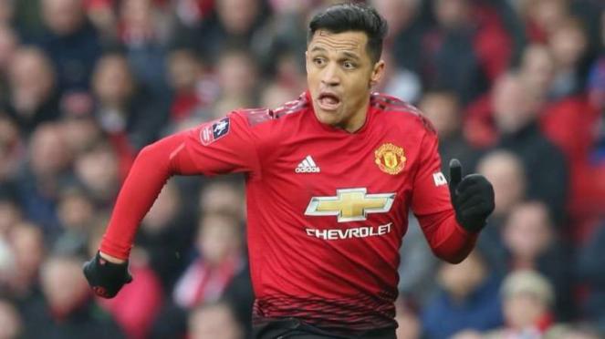 Winger Manchester United, Alexis Sanchez