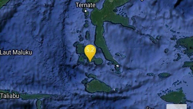 Ilustrasi Gempa bumi di Halmahera Selatan beberapa waktu lalu.