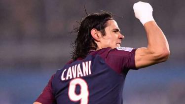 Penyerang Paris Saint-Germain (PSG), Edinson Cavani