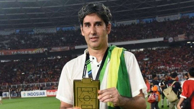 Mantan pelatih Persija Jakarta, Stefano Cugurra Teco