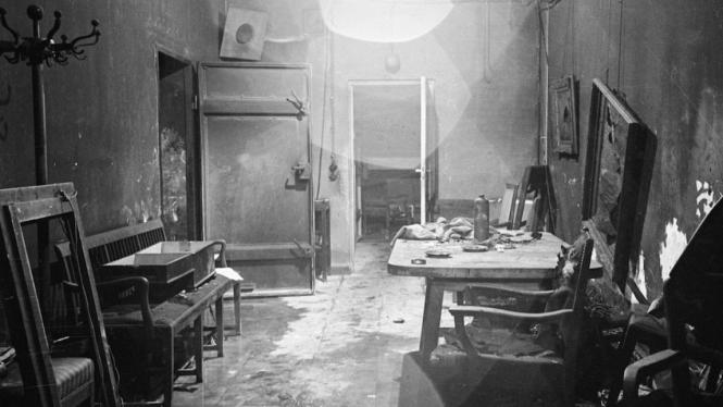 Bunker tempat persembunyian terakhir Adolf Hitler
