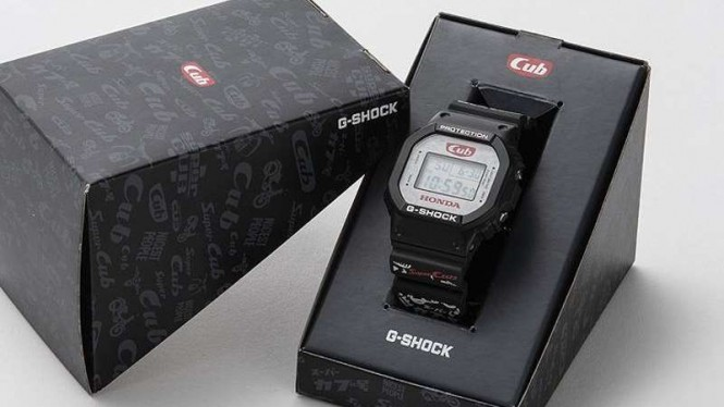Casio Hadirkan G-Shock Edisi Honda Super Cub – VIVA 3bc4c3e50b
