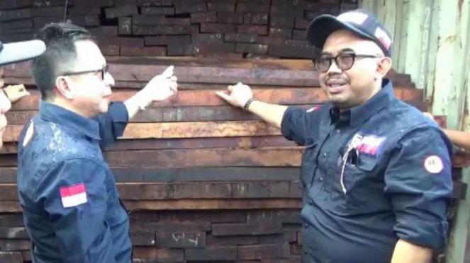 TNI Bongkar Penyelundupan Kayu Besi asal Papua Senilai Rp16,5 Miliar
