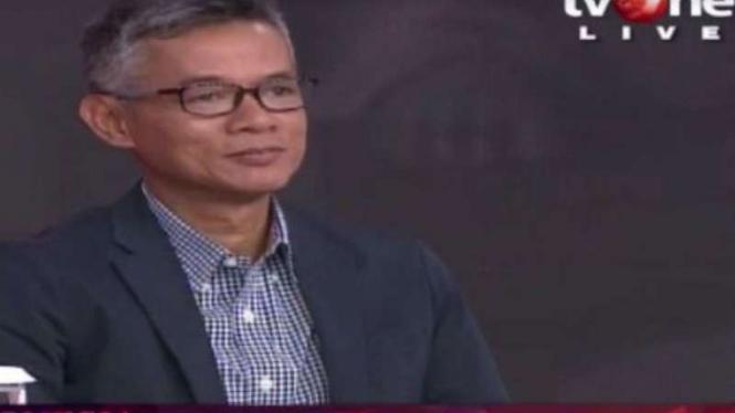 Komisioner KPU Wahyu Setiawan di ILC