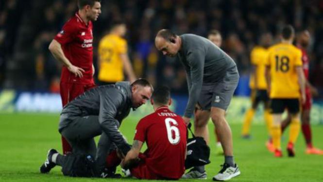 Bek Liverpool, Dejan Lovren, cedera