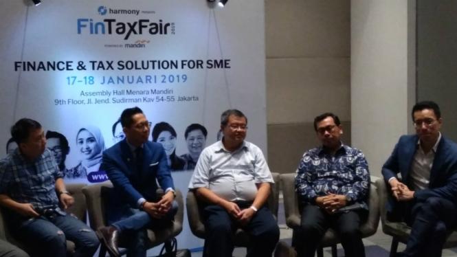 Konferensi Pers Fintax Fair 2019, Jakarta
