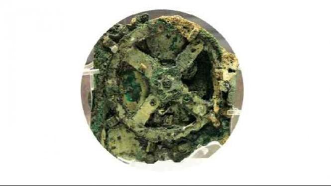Mesin komputer kuno Antikythera.