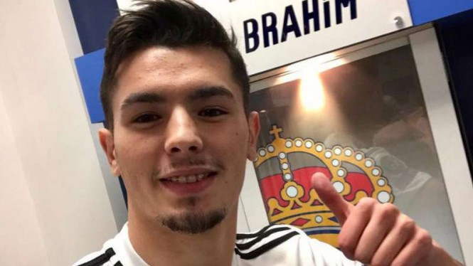 Gelandang Real Madrid, Brahim Diaz.
