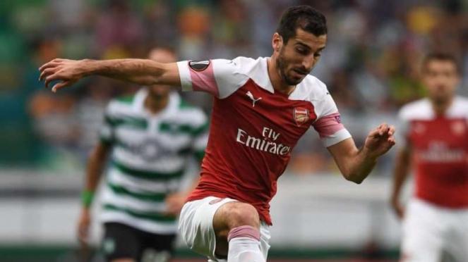 Gelandang Arsenal, Henrikh Mkhitaryan