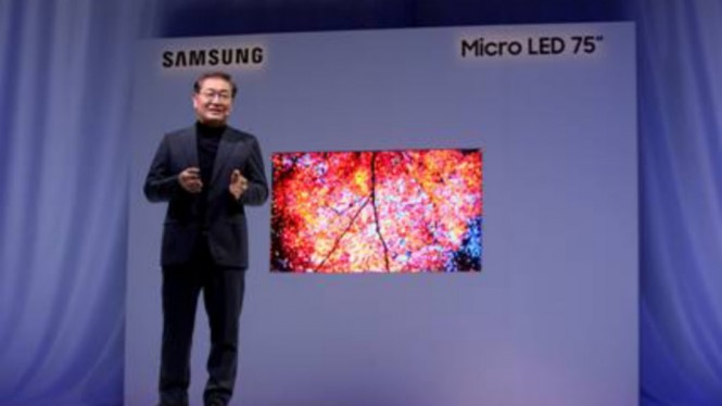 Samsung Micro LED 75 inci
