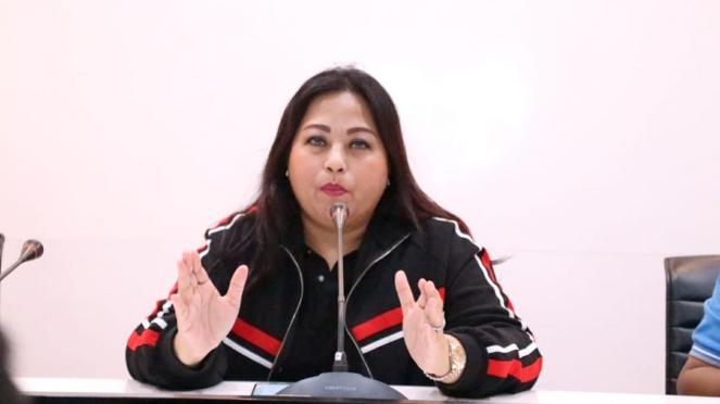 Direktur Utama PT JSC, Meina Fatriani Paloh
