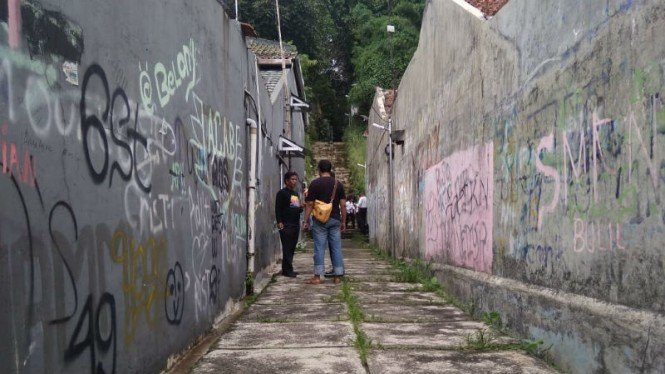 Lokasi pembunuhan siswi SMK di Bogor