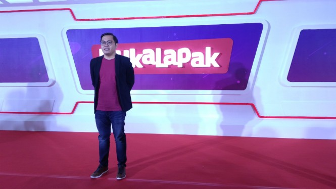 Founder dan CEO Bukalapak, Achmad Zaky