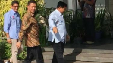Prabowo-Sandiaga ke rumah SBY, Kamis, 10 Januari 2019