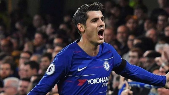 Penyerang Chelsea, Alvaro Morata