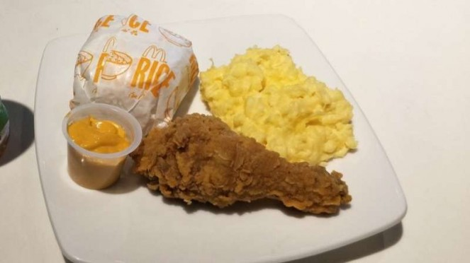 Cheese Chicken and Rice McDonald