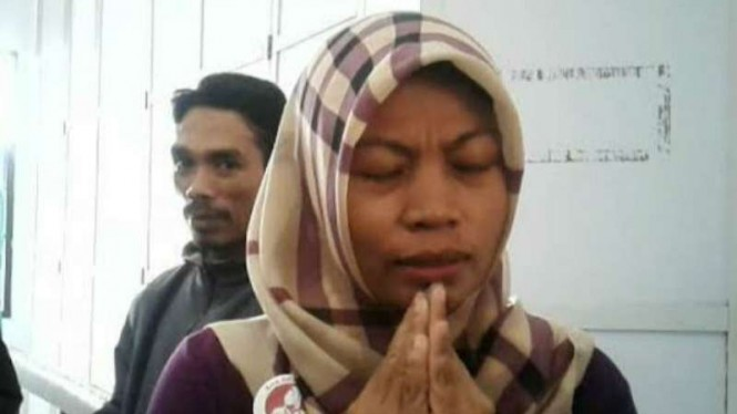 Terpidana kasus pelanggaran UU ITE, Baiq Nuril, menjalani sidang perdana peninjauan kembali di Pengadilan Negeri Mataram, Nusa Tenggara Barat, Kamis, 10 Januari 2019.