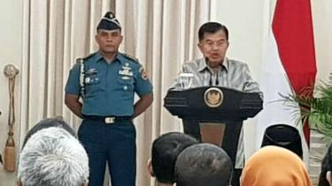 Wakil Presiden Jusuf Kalla Istana Wakil Presiden, Jakarta.