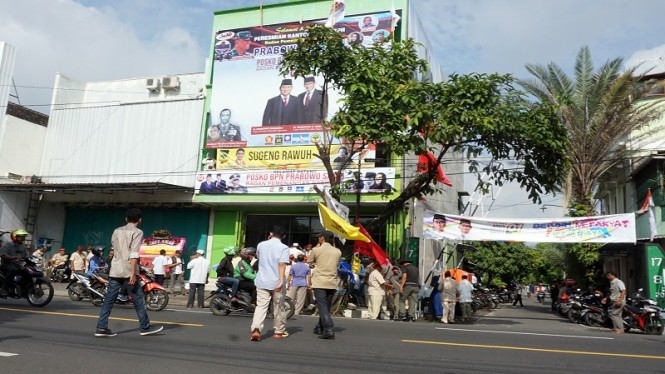 Ada 15 Nobar Debat Capres Di Solo: 10 Tim Prabowo Dan 5 Tim Jokowi