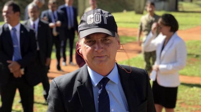 Presiden Brasil, Jair M Bolsonaro