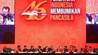 Penutupan Rakornas PDI Perjuangan di Jakarta, Jumat 11 Januari 2019