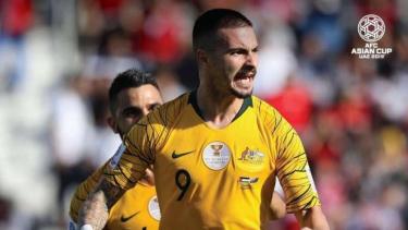 Bomber timnas Australia, Jamie MacLaren di laga Piala Asia 2019