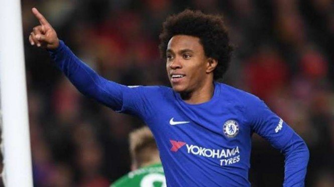 Winger Chelsea, Willian