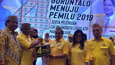 Ketum Airlangga Hartarto konsolidasi ke Golkar Gorontalo