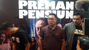 Ridwan Kamil di Gala Premier Preman Pensiun