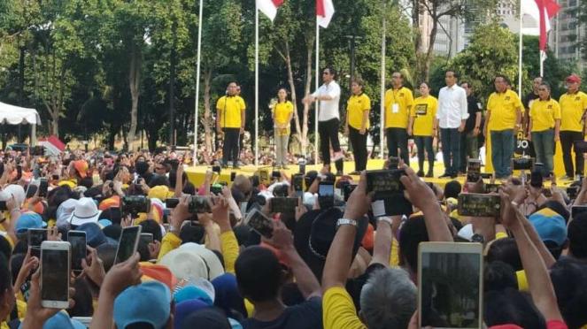 Jokowi dan deklarasi alumni UI pendukungnya