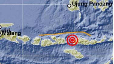 Gempa di Manggarai Barat, NTT