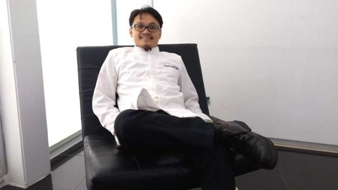Founder dan Chief Executive Officer The Great Coin, Mamat Rohimat.