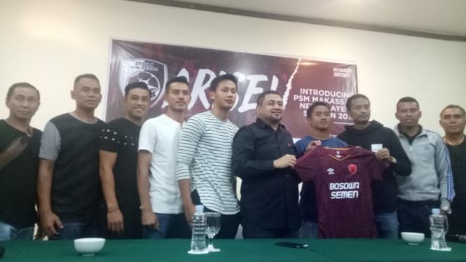 Perkenalan pemain baru PSM Makassar